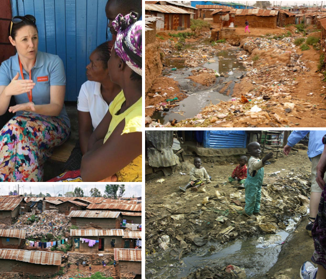 A reason to complain not. Images of Nairobi, Kenya and Jill Schiefelbein