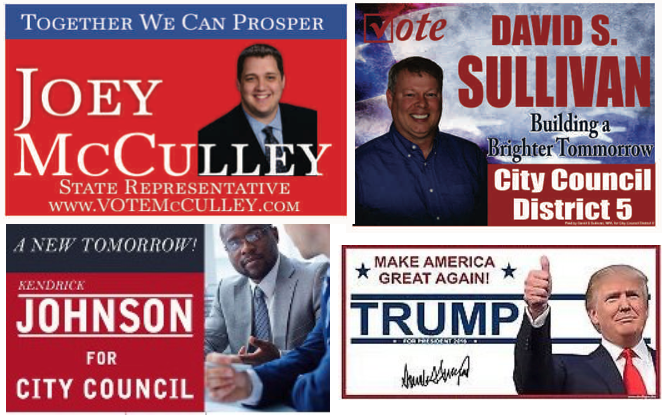 Running for office? Yard Signs that Voters Remember